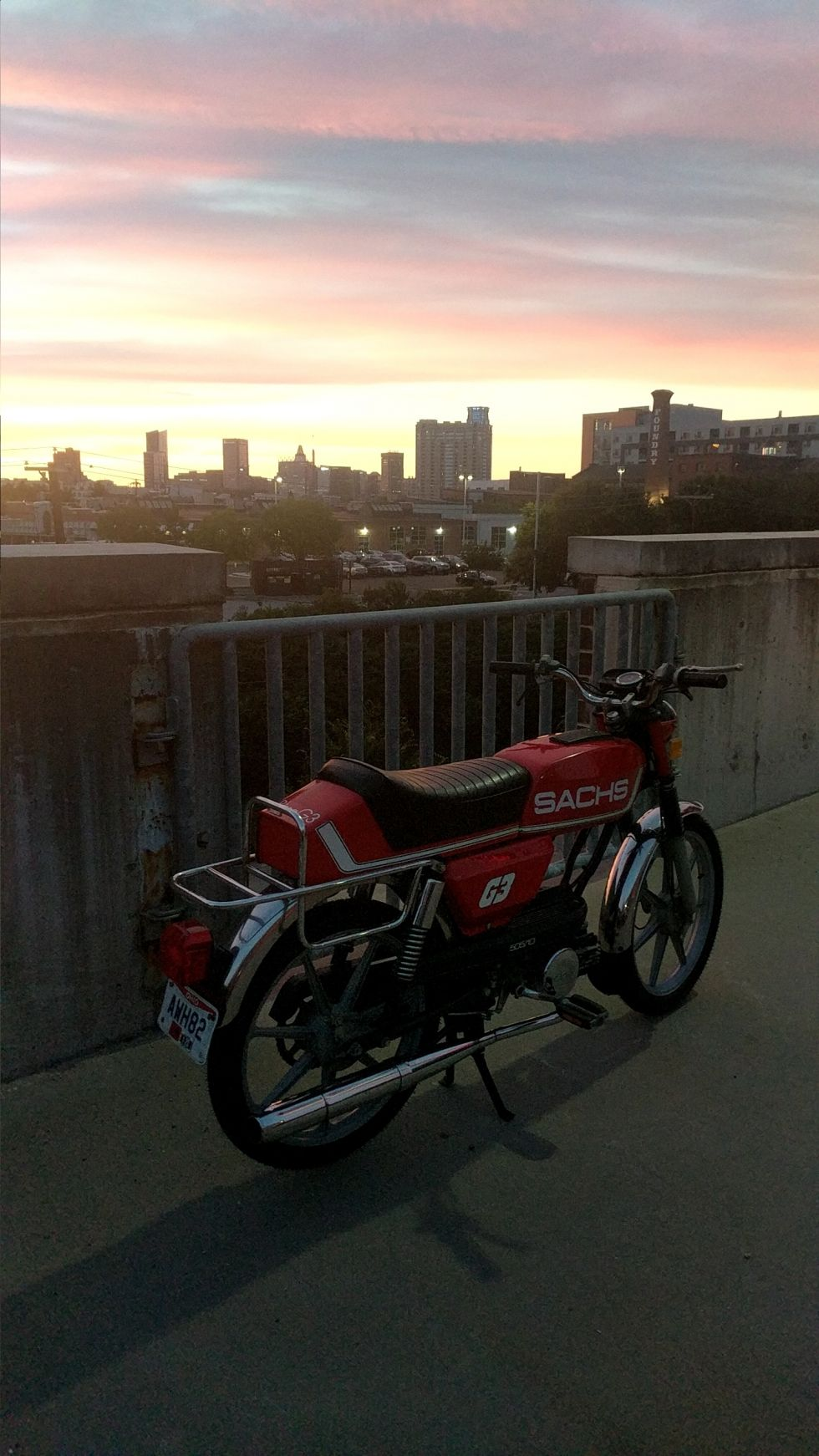 1980 Sachs Prima G3, Red