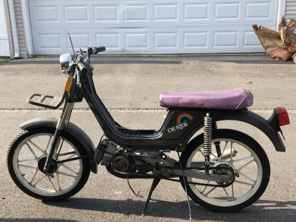 Derbi Variant, Black