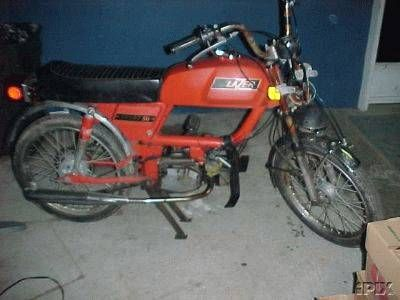 1977 Lazer Sprint 50, Red