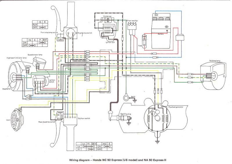 na50 wiring diagram 6v regulator on nc50     moped army  6v regulator on nc50     moped army