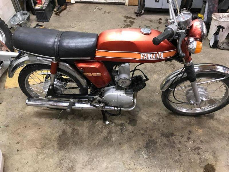 1975 Yamaha Ss50  U2014 Moped Army