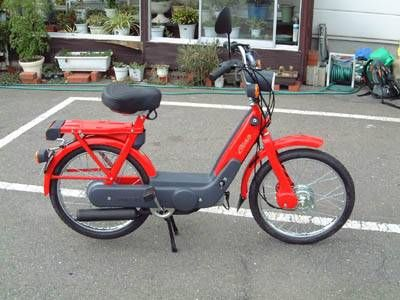 2004 Vespa Ciao P, Red