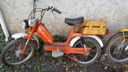 1977 Malaguti Commuter, Orange