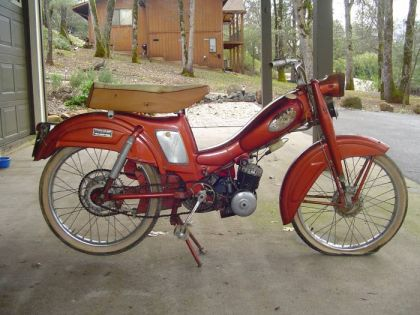 1963 Montgomery Wards Riverside Moped