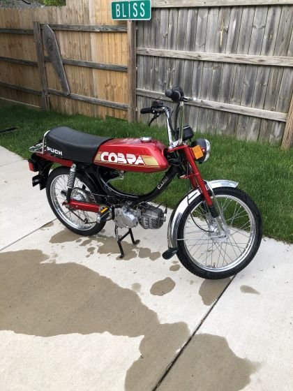 1986 Puch Cobra, Red