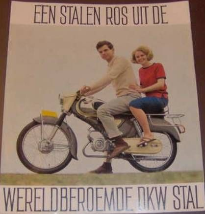 DKW-Zweirad Union, Couple on moped