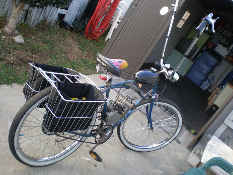 (old Schwinn copper w/80cc)