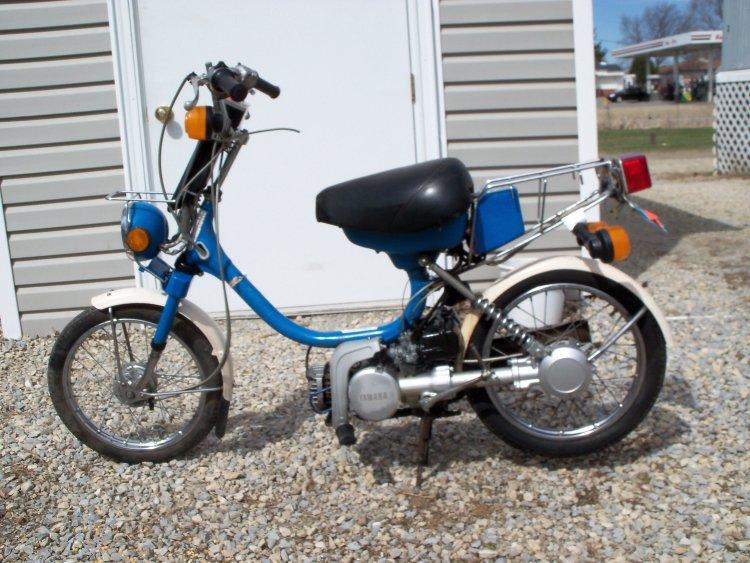 yamaha moped: