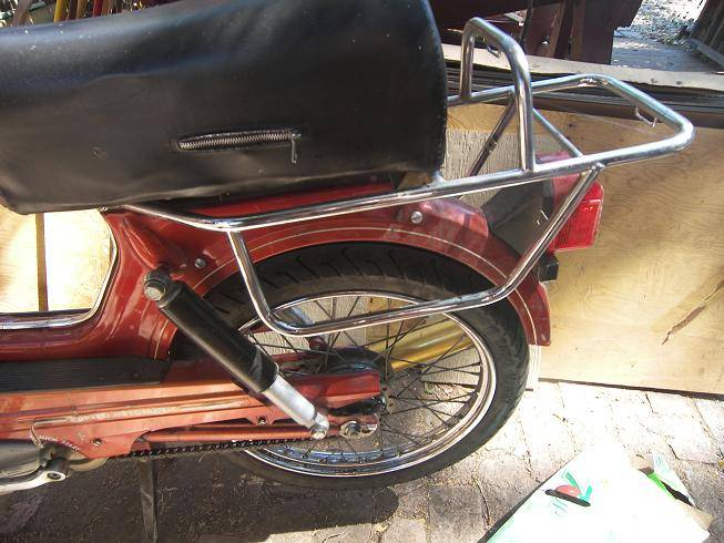 1980 Tomos Bullet Moped – Billy Knight