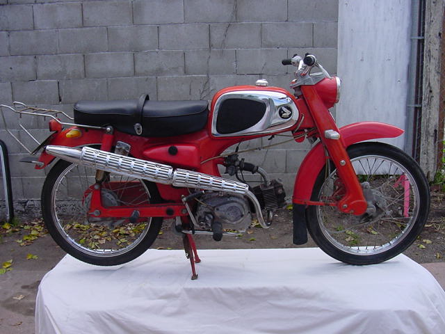 1964 Honda (Top Tank, Red)