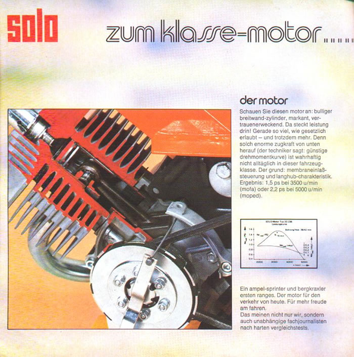 1974 Solo W Motor Photo Moped Photos Moped Army