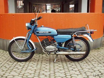 1975 hercules k50 blue moped photos moped army. Black Bedroom Furniture Sets. Home Design Ideas