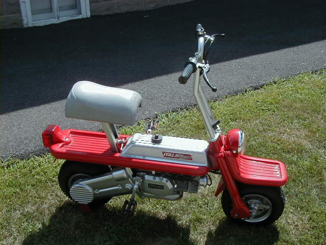1977 Italjet Pack-A-Away (Red and White)