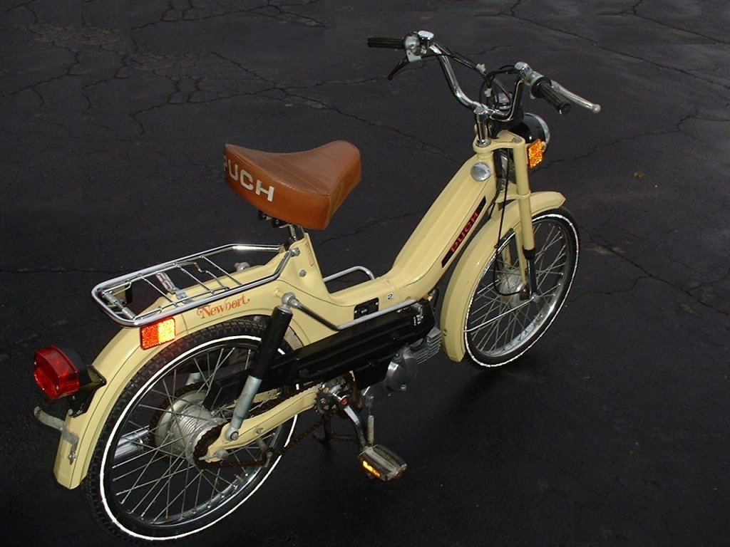 1977 Puch Newport (Back View)