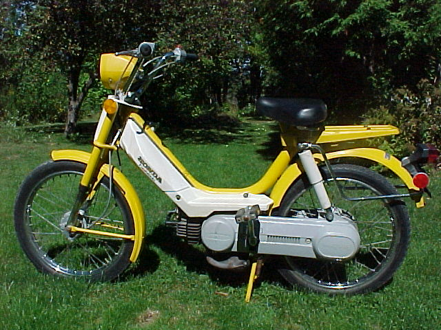 1978 Honda Hobbit Yellow Moped Photos Moped Army