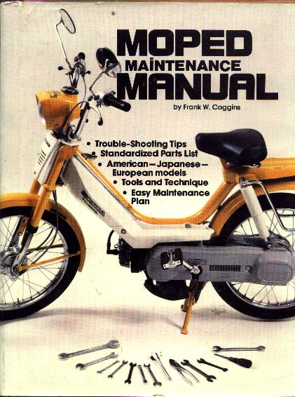 1979  (Moped Maintenance Book)