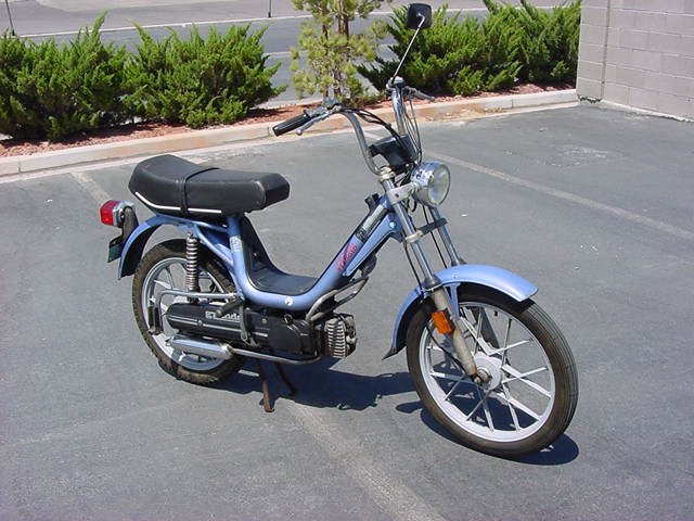 1979 Vespa Ciao (Light Blue)