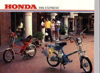 1981 Honda Express (Factory Brochure)