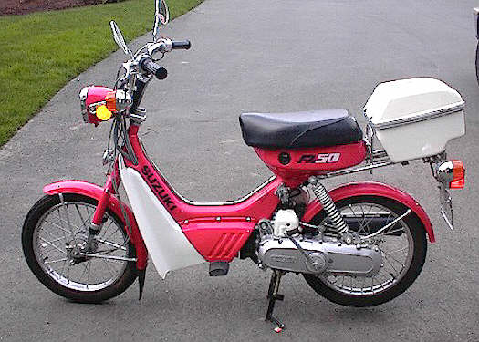 1986 Suzuki FA50 Shuttle (Red)