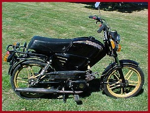 1991 Tomos A-3 Golden Bullet TT-LX (Black)