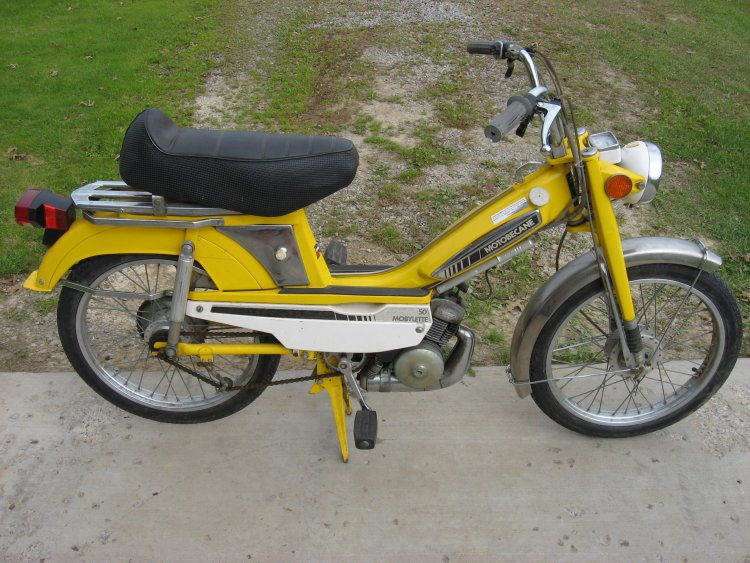 1978 Motobecane Mobylette   Moped Photos — Moped Army