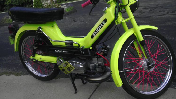 Puch maxi ii moped photos moped army for 18x40 frame