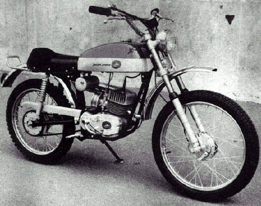 1970 Garelli Tiger Junior Cross