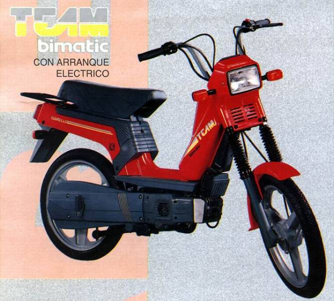 1993 Garelli Team Bimatic ES (Red)