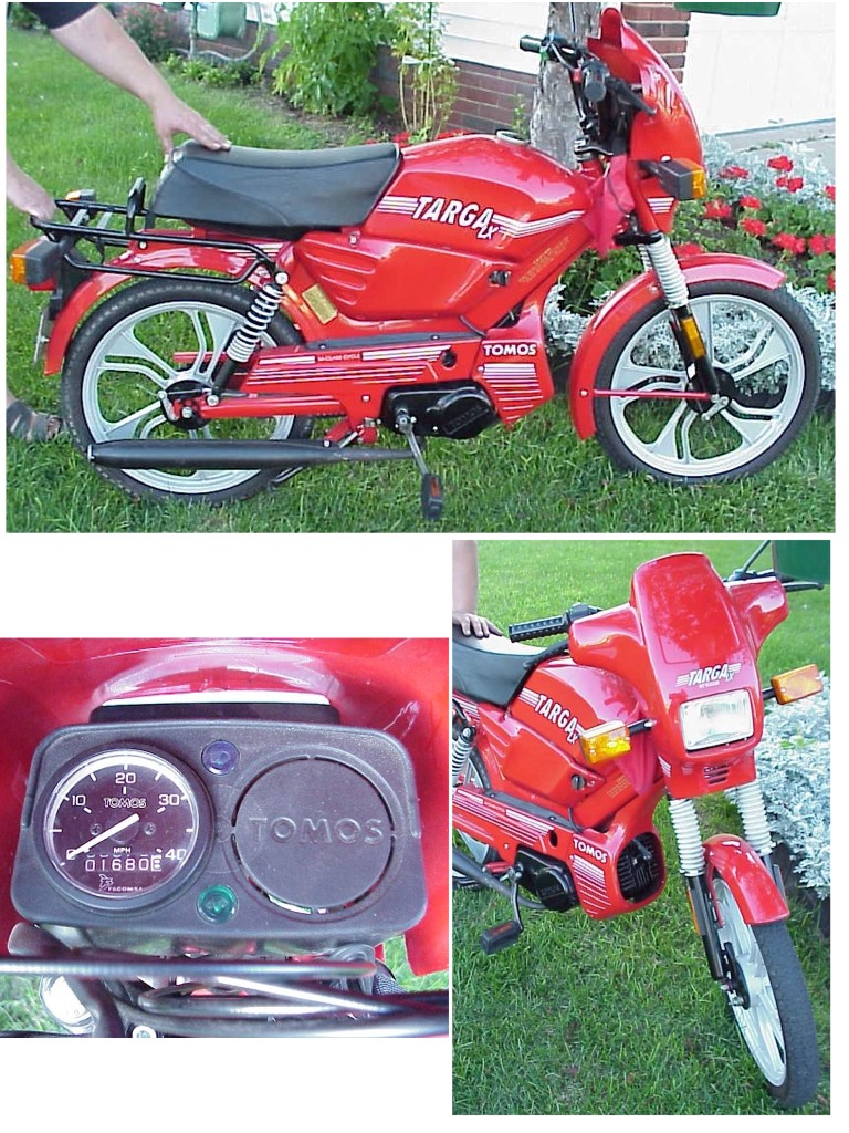 1996 Tomos Targa LX (Red)