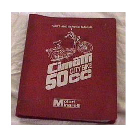 Cimatti City Bike (Parts and Service Manual 1)