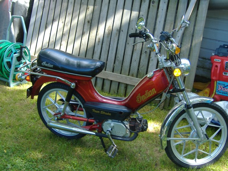 1980 Indian AMI-50 Chief