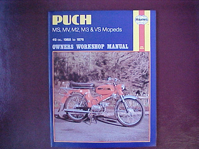 Puch MS50V (Haynes Manual)