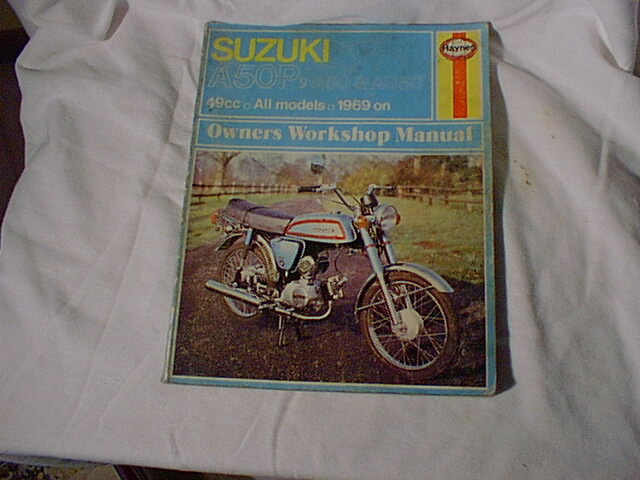 Suzuki A50P (Haynes Manual)