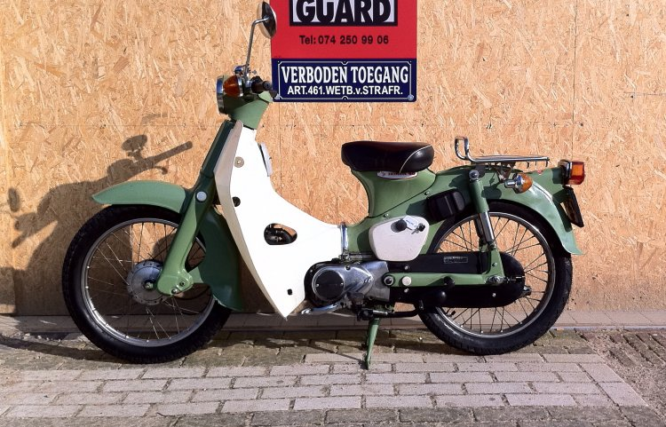 1972 Honda C50 | Moped Photos — Moped Army