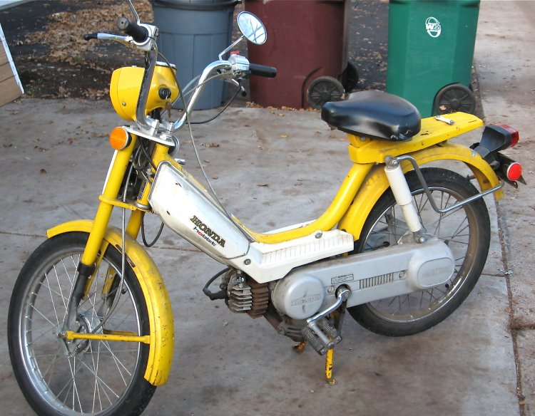 1978 Honda Hobbit (Yellow)