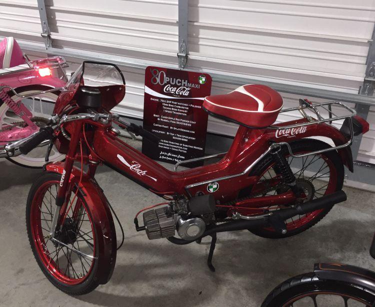 Puch Maxi Sport (Coca-Coloa moped)