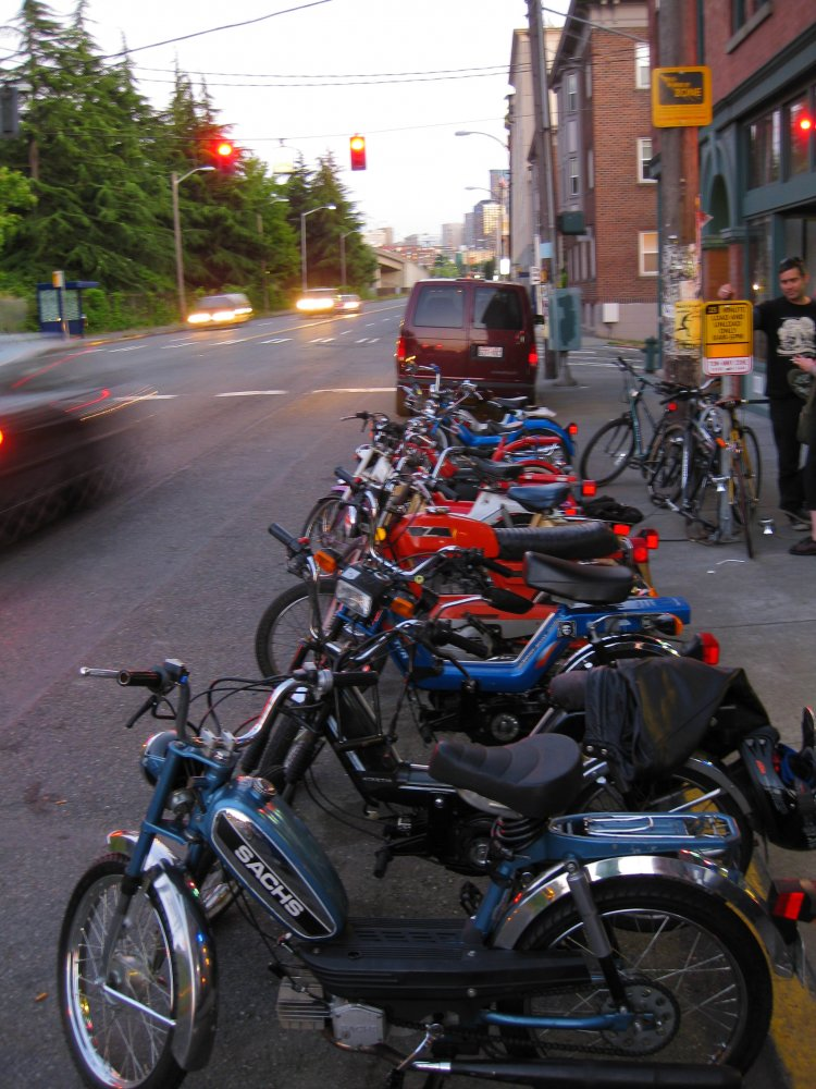 (A Moped Monday in Seattle)