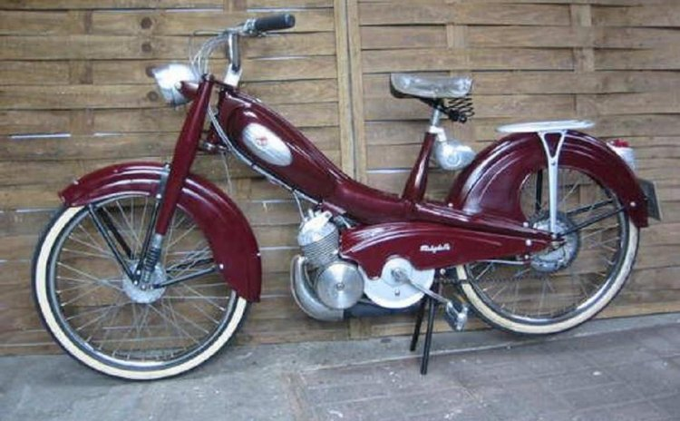 1957 Mobylette AV76 | Moped Photos — Moped Army