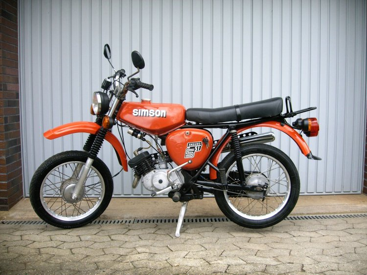 1985 simson s51 enduro moped photos moped army. Black Bedroom Furniture Sets. Home Design Ideas
