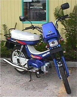 2001 Hero Puch Turbo Sport (Blue)