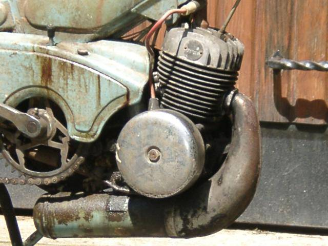 1965 Mobylette Av79 Engine Shot Moped Photos Moped Army