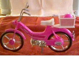 (Barbi Puch Moped Toy)