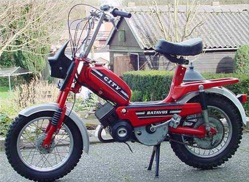 Super 1978 Batavus City, Red | Photo — Moped Army PV-79