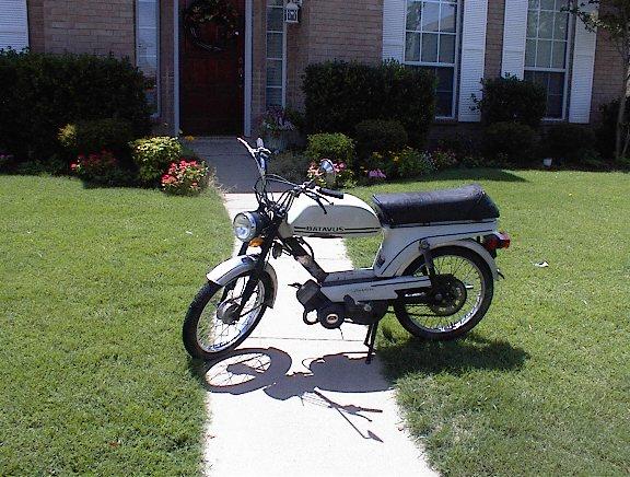 1977 Batavus Starflite, White | Moped Photos — Moped Army  Batavus