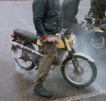 (Moped Burnouts)