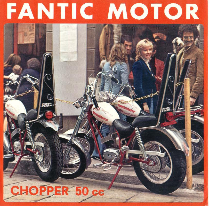 Fantic Motor Concord Chopper 50 (Flyer)