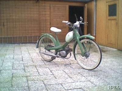 1960 NSU Quickley (Green)