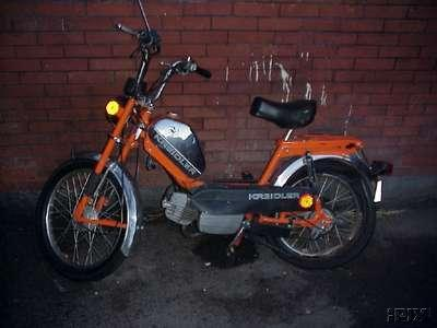 1978 Kreidler (Orange and Chrome)