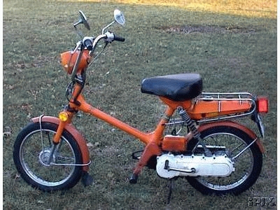 1978 Honda Express NC50 (Orange)