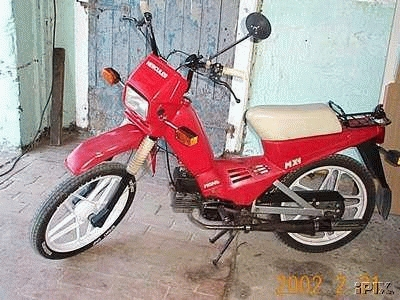1985 Hercules MX-1 (Red)